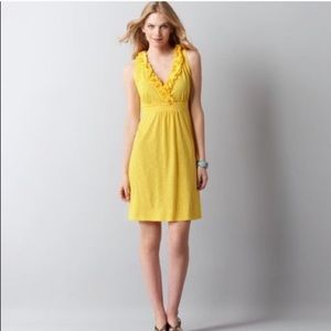 LOFT Yellow Sundress